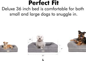 36 inch dog bed for orthopedic